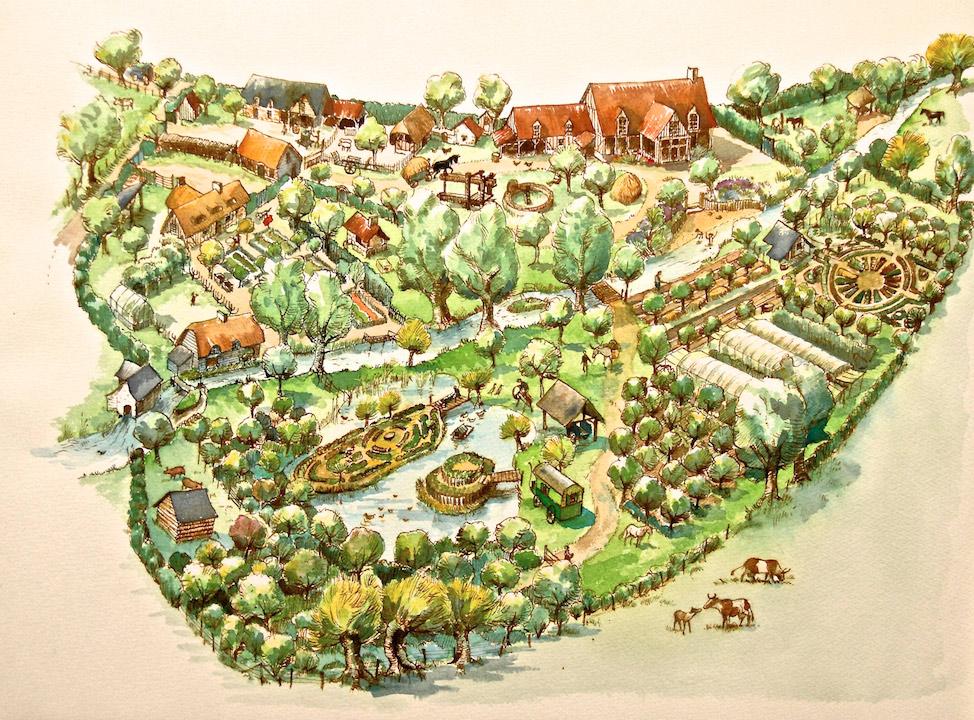 Visite de la ferme du Bec Hellouin